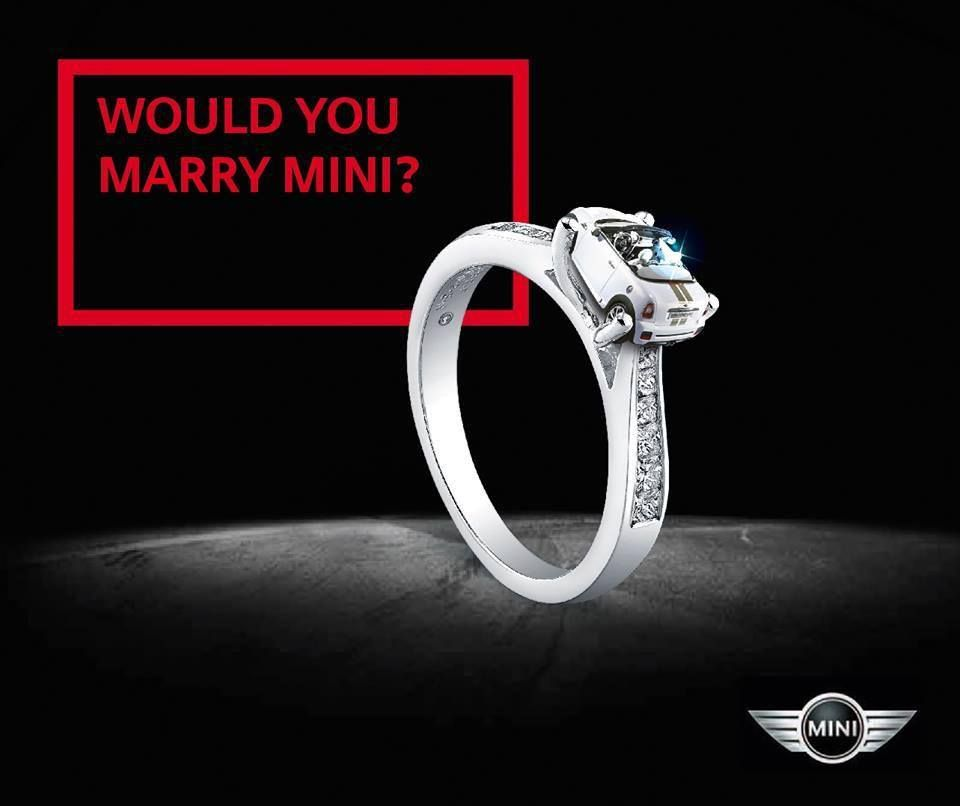 Would you marry #MINI? Yes! Yes! #NotNormal