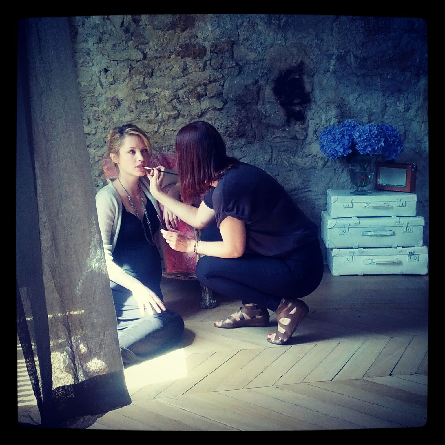 Autumn maternity - behind the scenes #boden