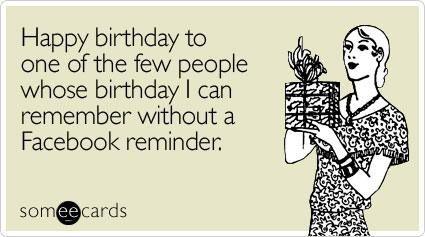 Birthday Quote E Card