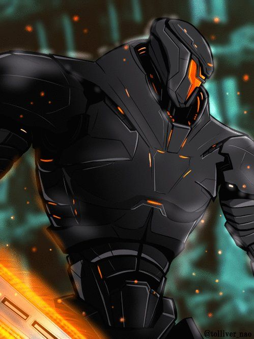 Tolliver On Twitter Obsidian Fury Sci Fi Pacific Rim