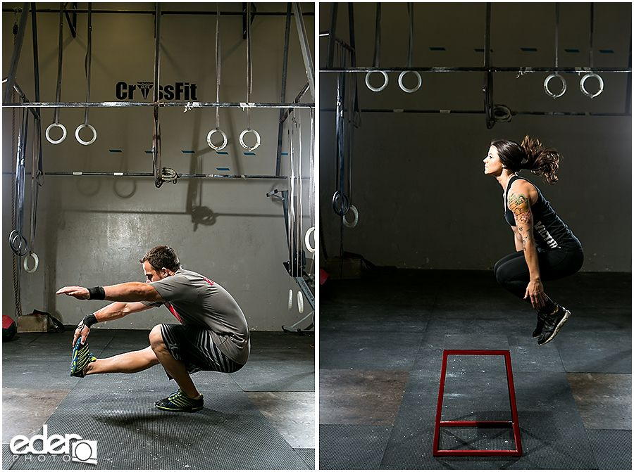 Crossfit gym training in san diego fitness photography