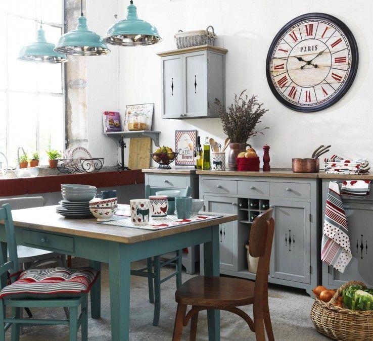 comptoir de famille blue kitchen comptoir de famille pinterest comptoir de famille. Black Bedroom Furniture Sets. Home Design Ideas