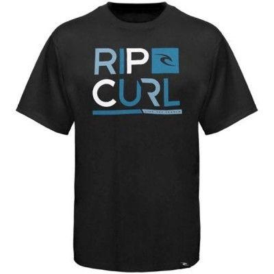 Camiseta Rip Curl Men's Department Premium T Shirt Black #Rip Curl#Camiseta
