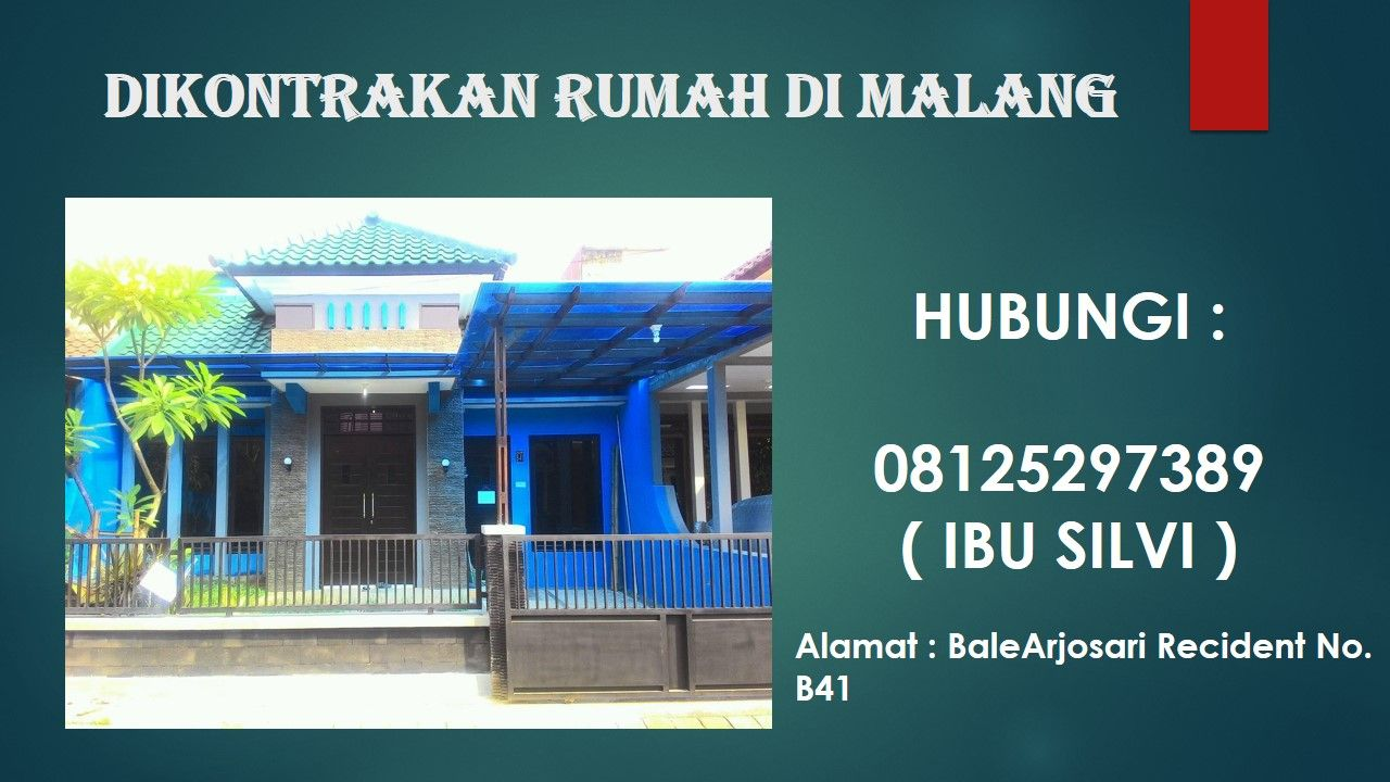 Sewa Rumah Di Malang Sewa Rumah Di Malang Terbaru Sewa Rumah Di Malang Murah Rumah Kontrakan Area Malang Kota Info Rumah Kontrakan Kota Malang Cari Rumah K