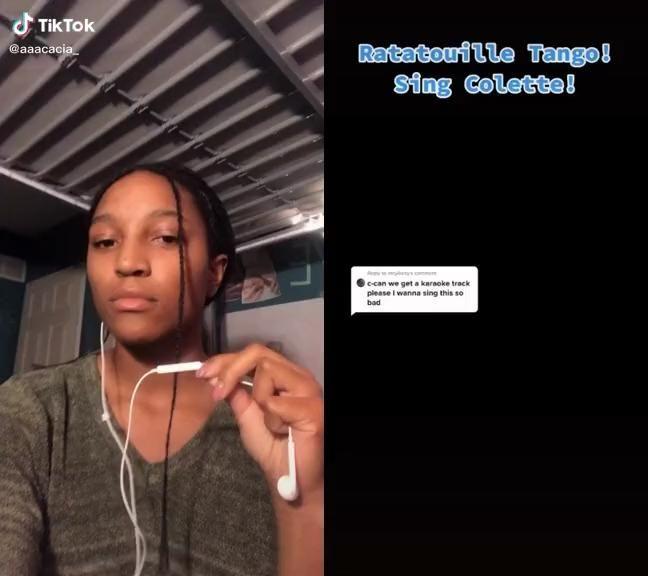 Credits To Aaacacia On Tik Tok Video Cool Music Videos Singing Videos Mashup Music