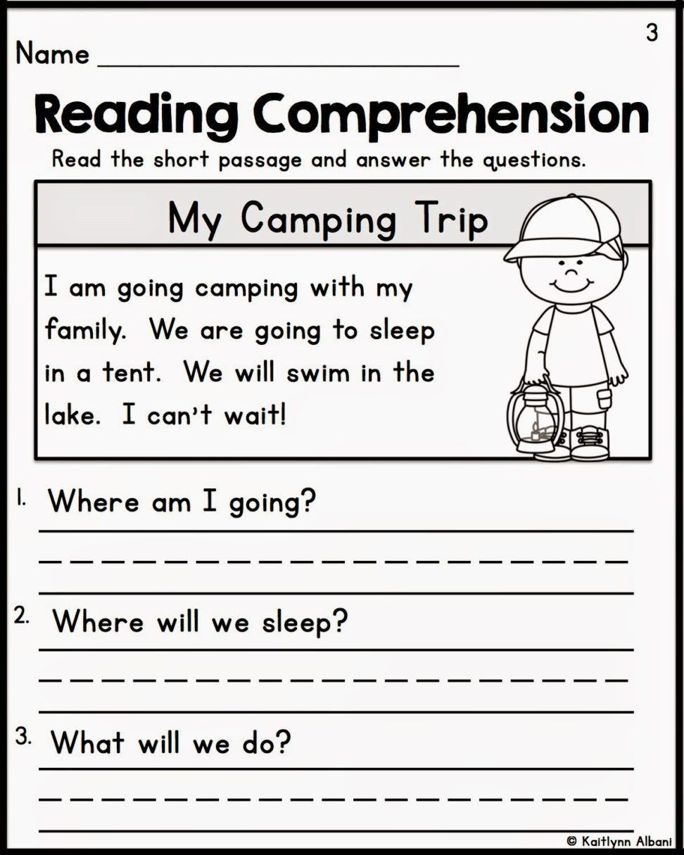21+ Free first grade reading worksheets Top