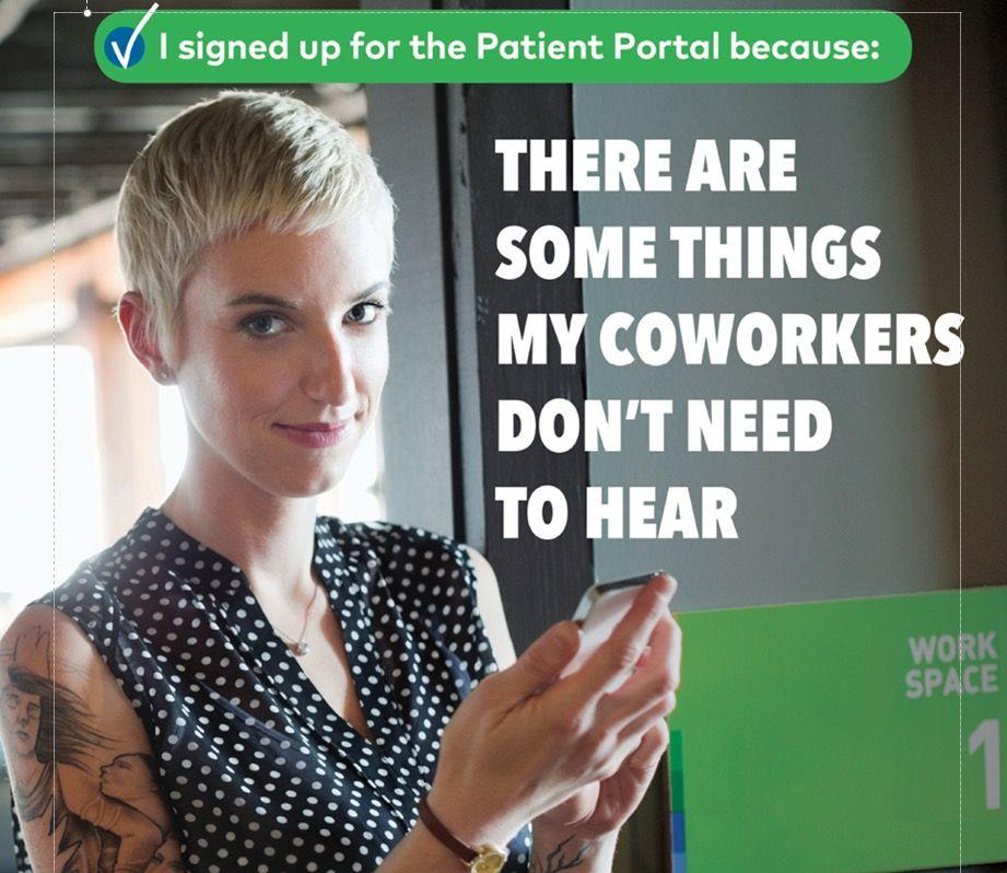 The Patient Portal is an online service that provides