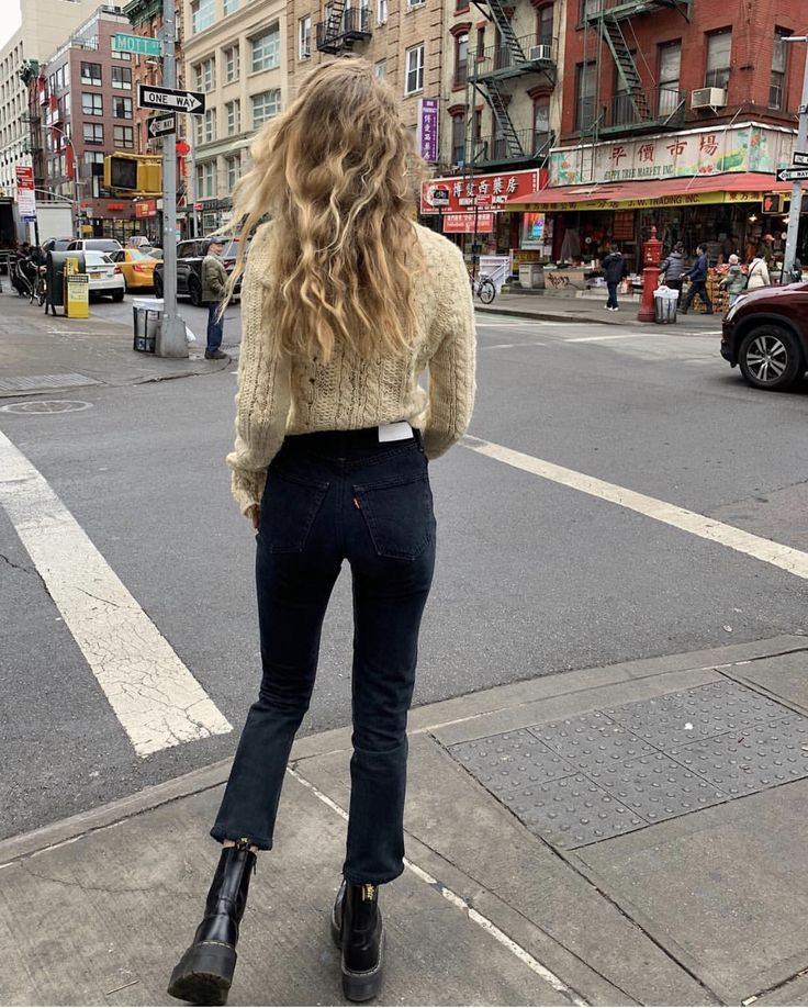 Photo of Cozy knit and cropped jeans – New Site
