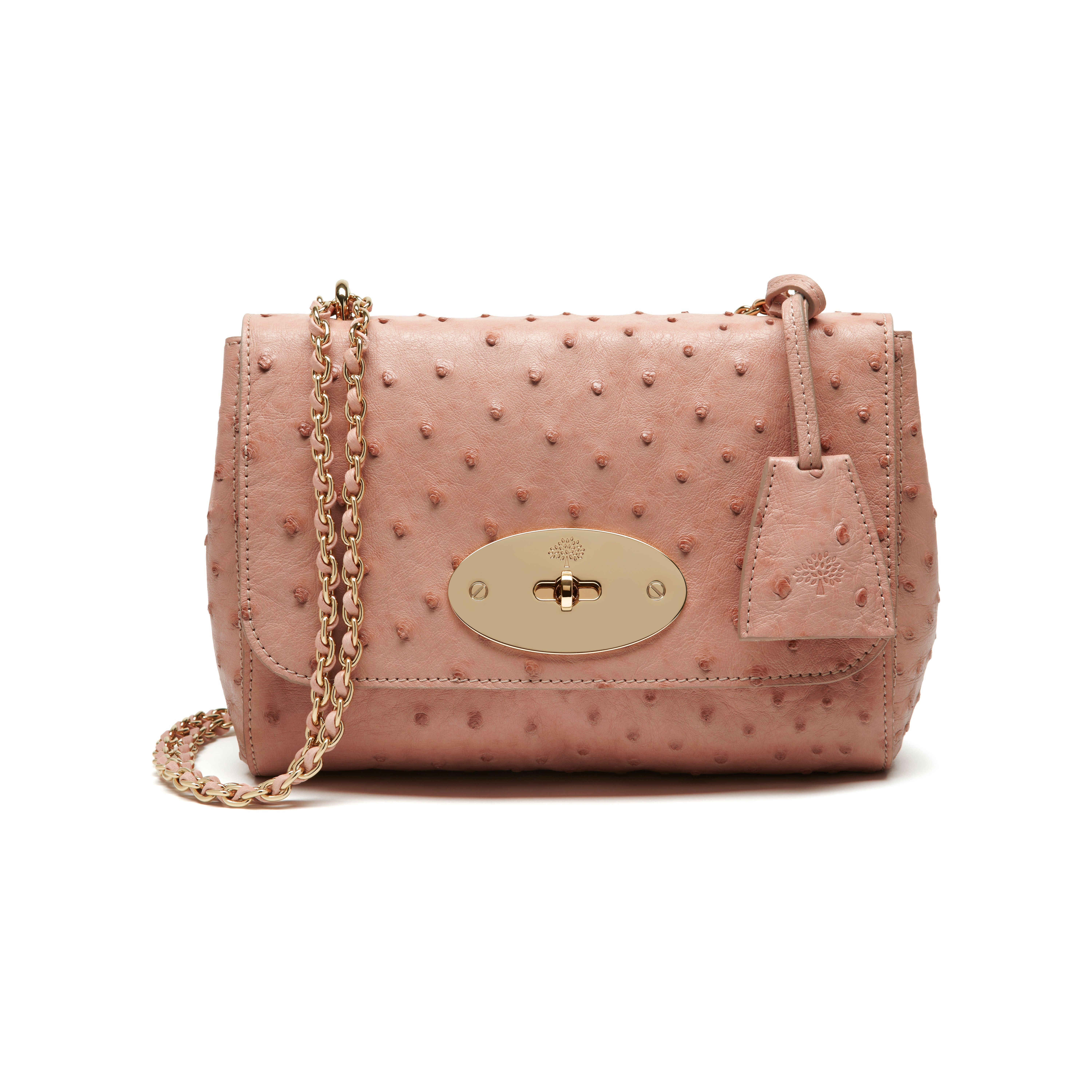 5c89cdde70 Mulberry - Lily in Rose Petal Ostrich