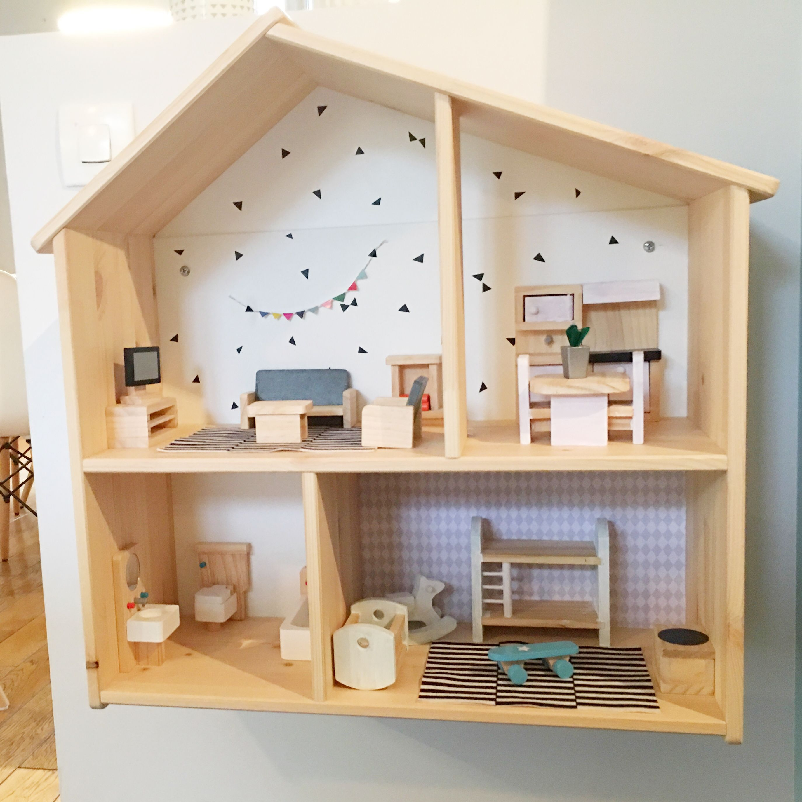 maison de poup e flisat ikea flisat pinterest doll. Black Bedroom Furniture Sets. Home Design Ideas
