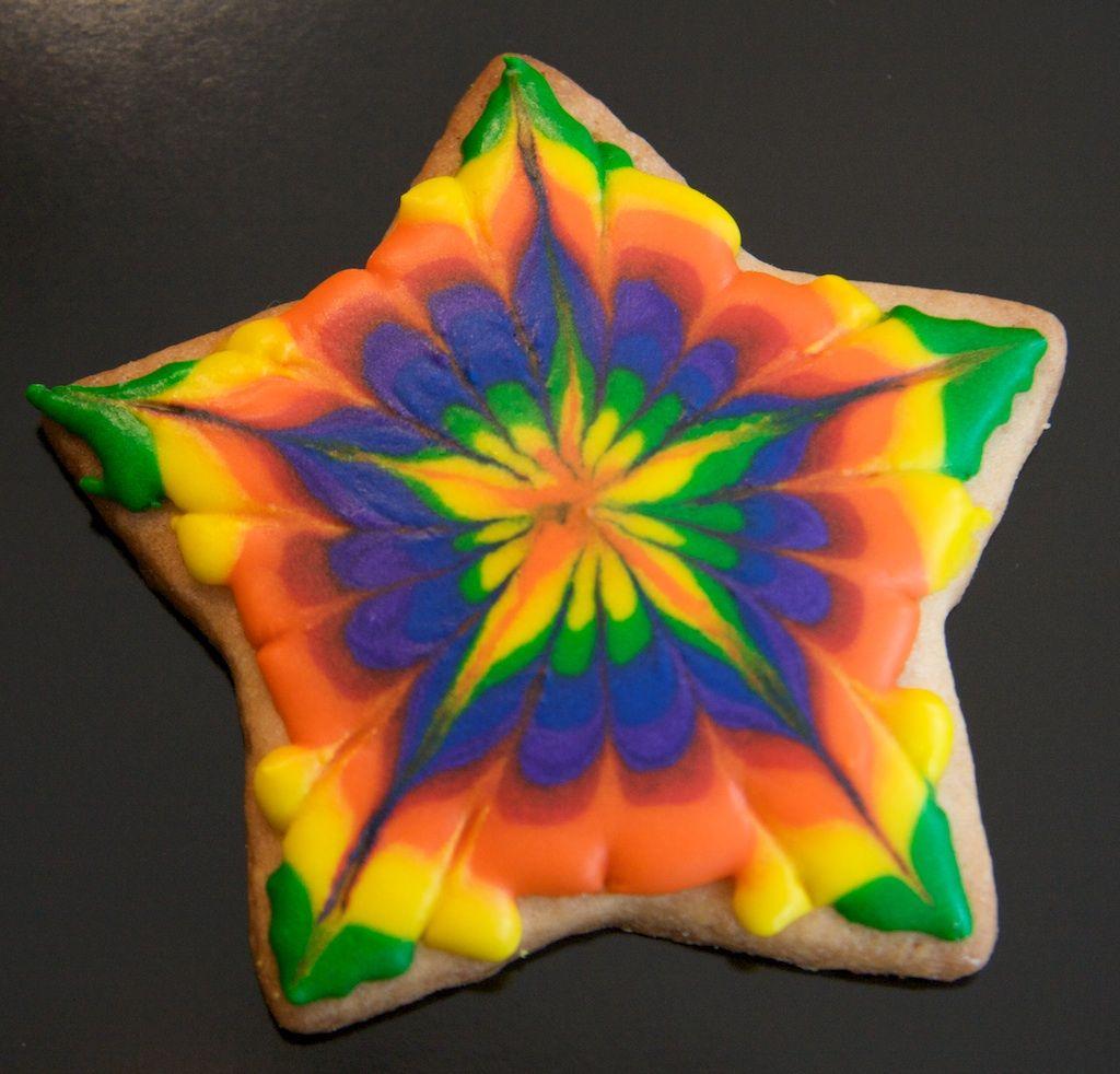 'Tie-dye' Cookie