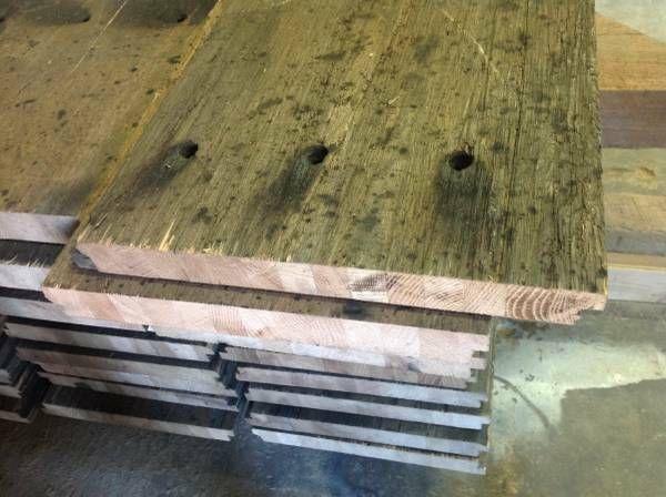 Vintage Reclaimed Lumber Rail Car Planks Barn Wood Beams Dallas Texas