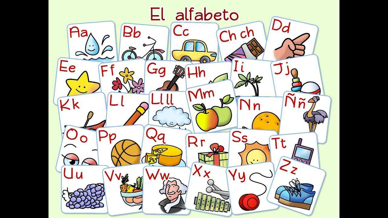 A El Alfabeto Traditional Spanish Alphabet Song Youtube Spanish Alphabet Spanish Lessons For Kids Teaching Spanish [ 720 x 1280 Pixel ]