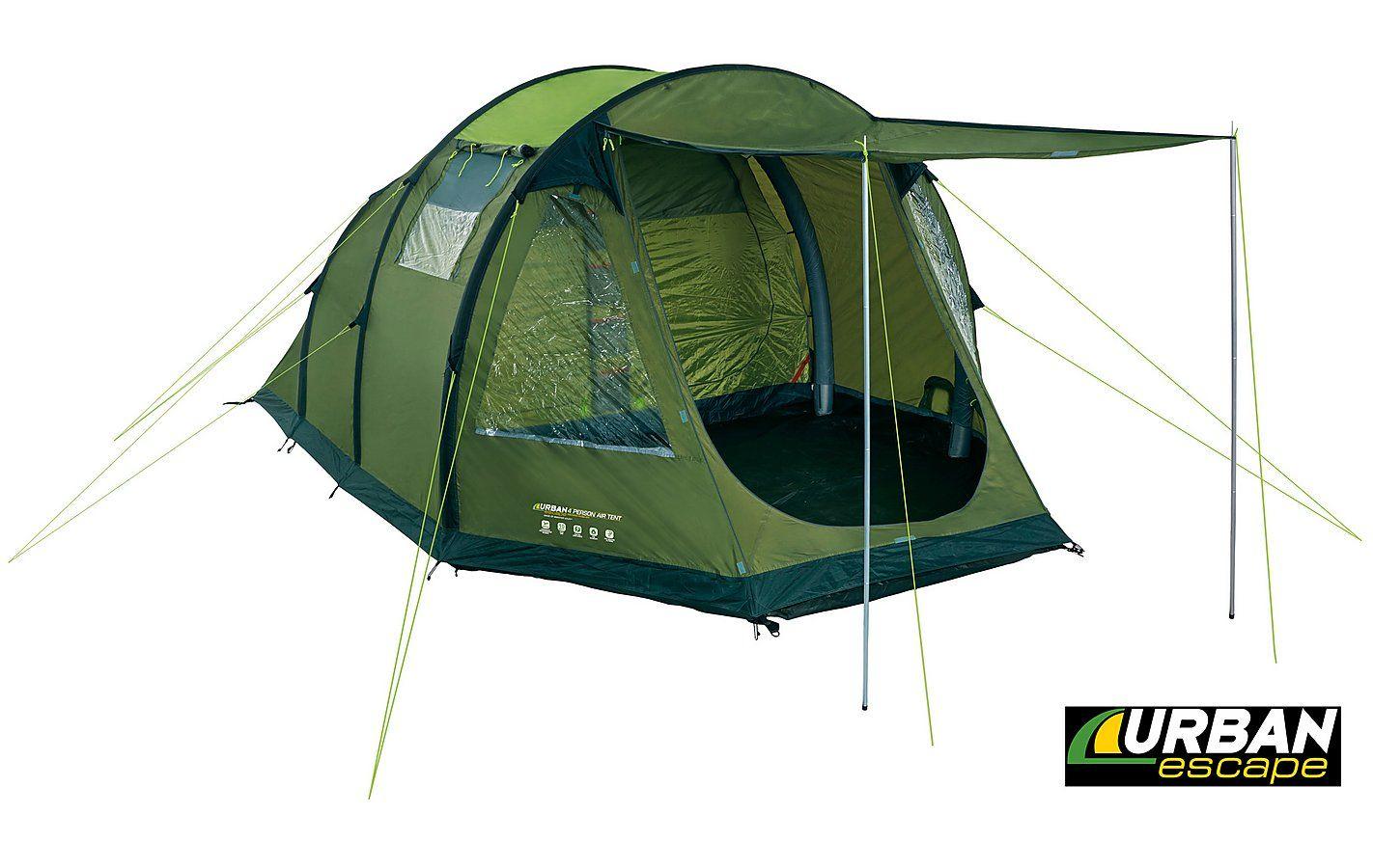4 man urban escape tent