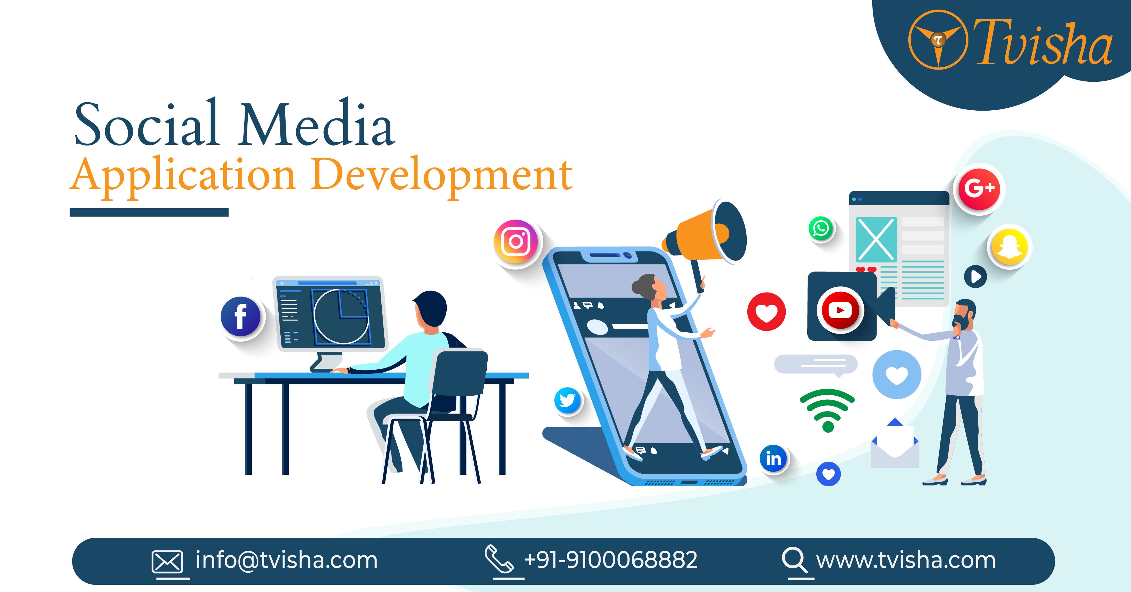 Social Media App Development Company iOS, Android App