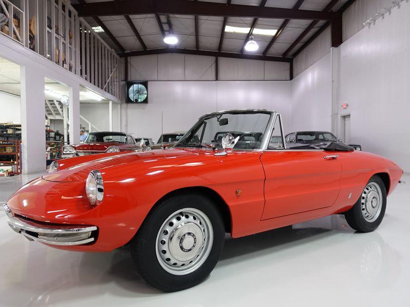 Charming 1966 Alfa Romeo Duetto Spider For Sale