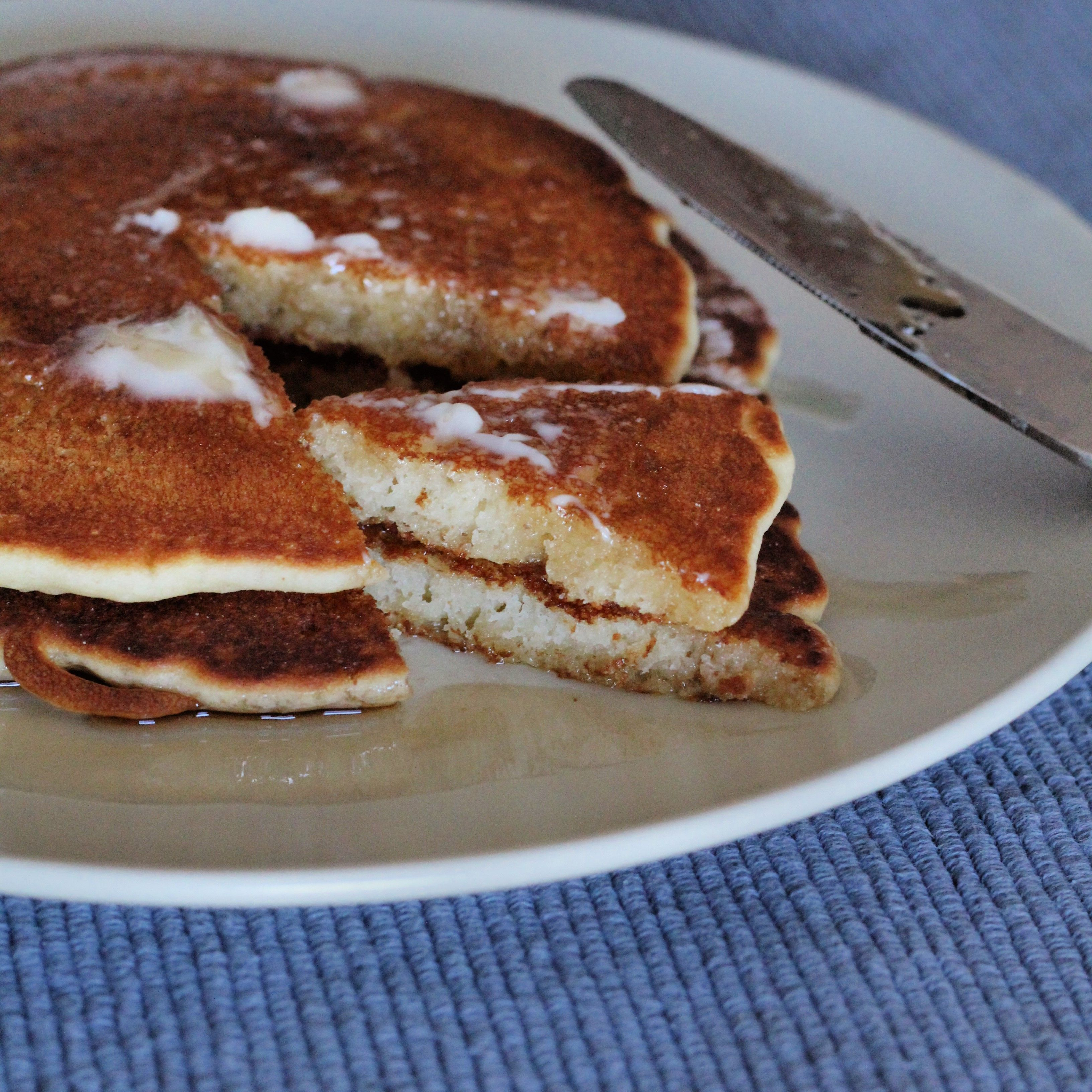 Traditional Buttermilk Pancake Taste Without The Gluten Dense And Fluffy At The Gluten Free Buttermilk Pancakes Buttermilk Pancakes Pancake Recipe Buttermilk