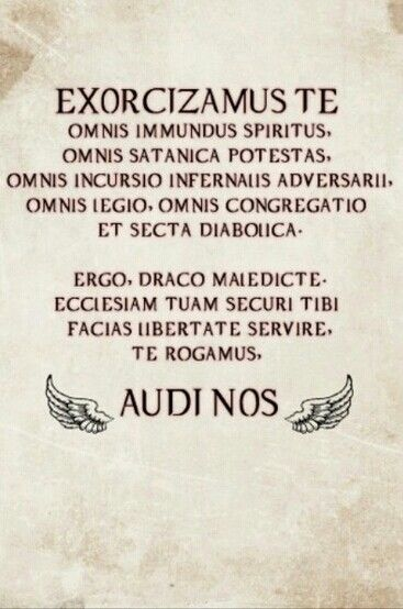 Get rid of demons. #supernatural