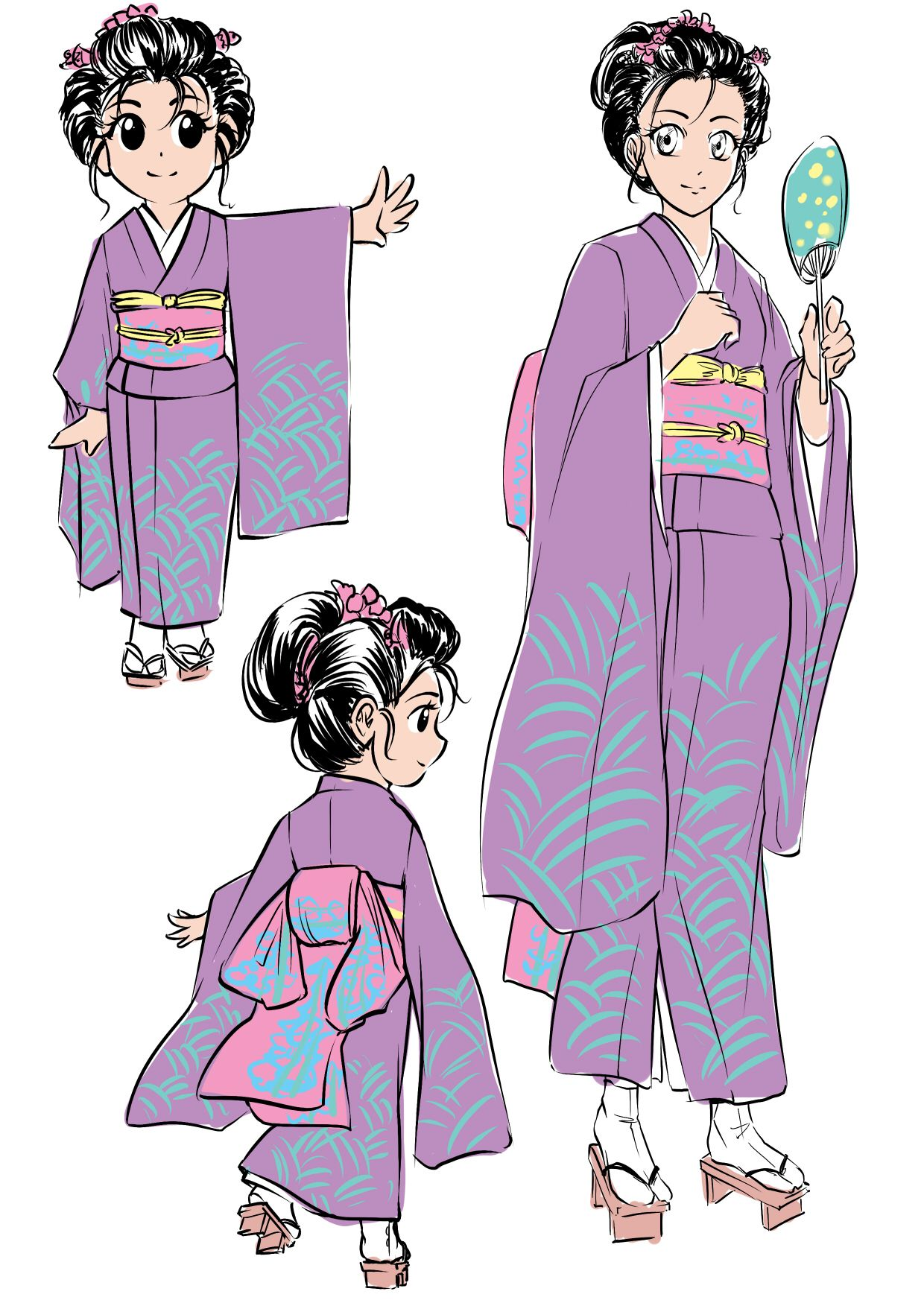Manga Character Design: Feudal Japan | Letraset Blog - Creative Opportunities