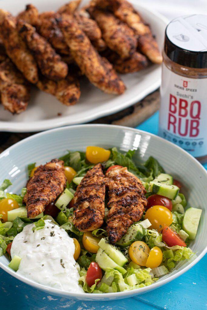 3 Ingredient BBQ Chicken (Suchi's Spice Rub)