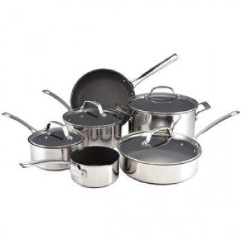 399 99 Was 899 99 Circulon Genesis Stainless 6pc Cookware Set