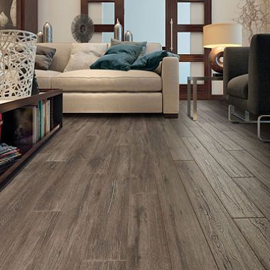 Select Surfaces Silver Oak Laminate Flooring Oak