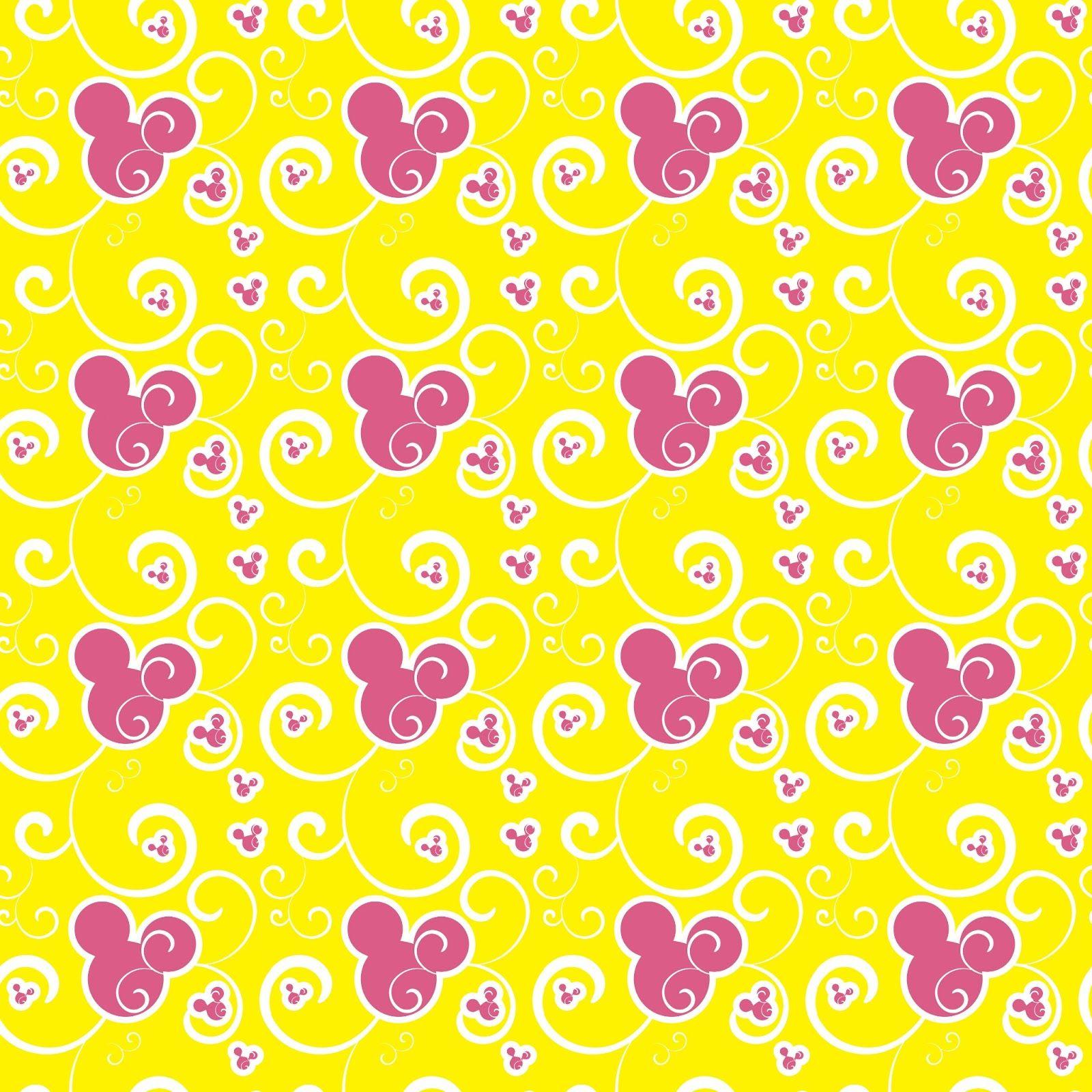 Scrapbook paper disney - Scrapdiggity Freebie Sweet Minnie Digital Papers Disney Scrapbookscrapbook