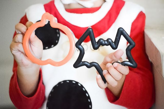 Halloween cookies for toddlers