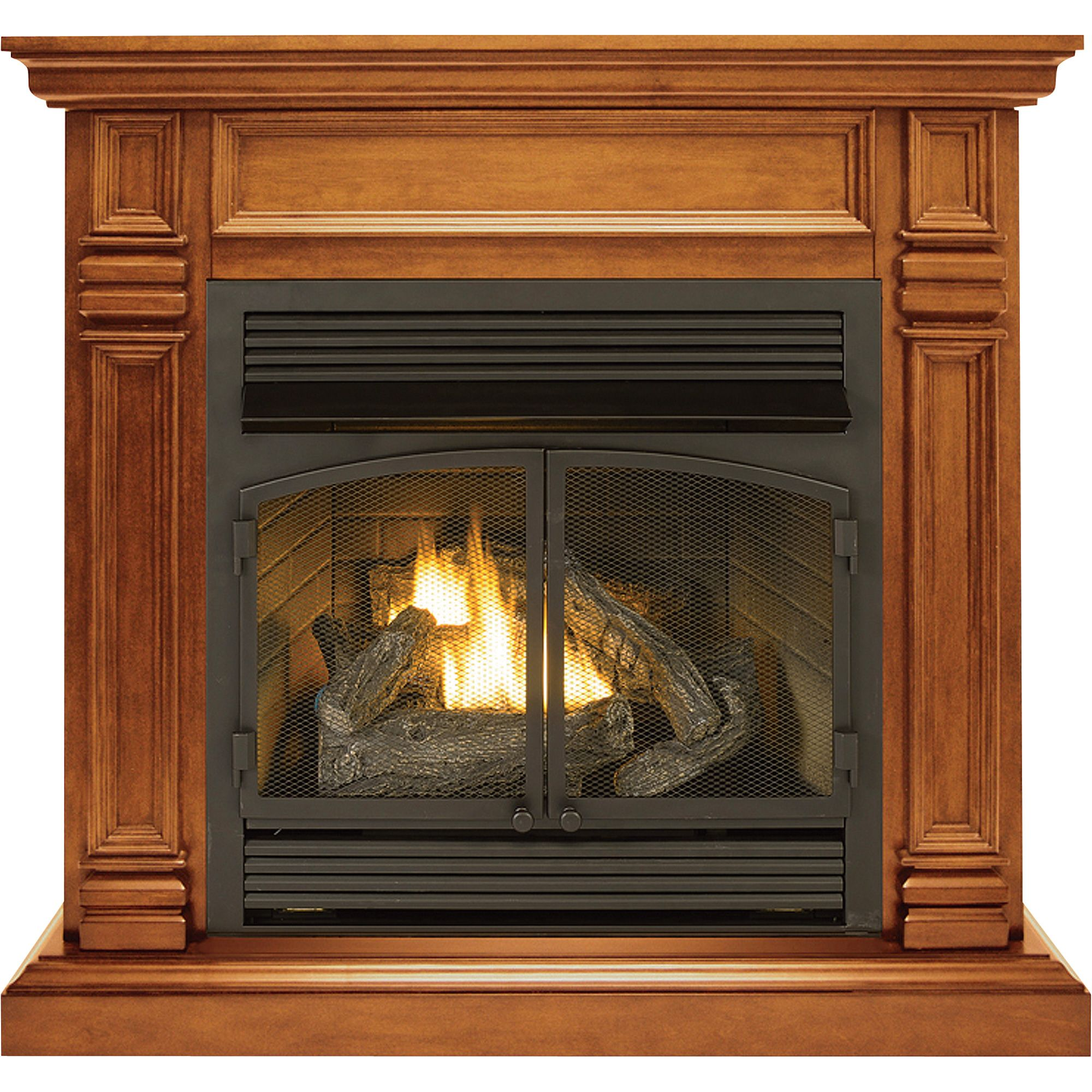 Procom Dual Fuel Vent Free Fireplace 32 000 Btu Apple Spice