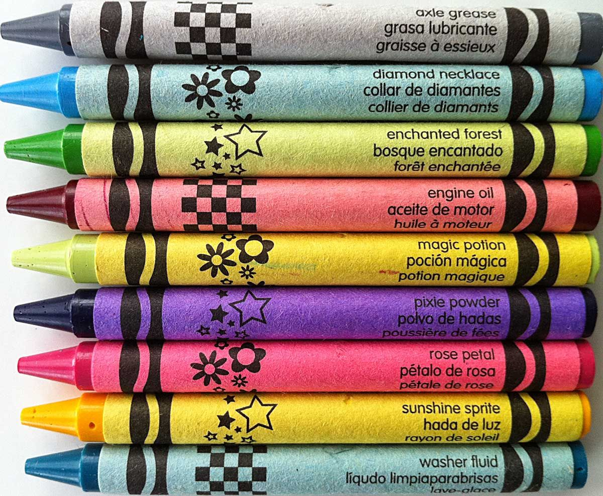 crayola crayon names coloring page. The Crayon Blog  Rare and Not A Visual look at Crayola crayon color names you probably haven t seen Time 2 Color Pinterest colors