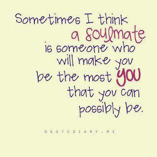 Sometimes I Think A Soulmate