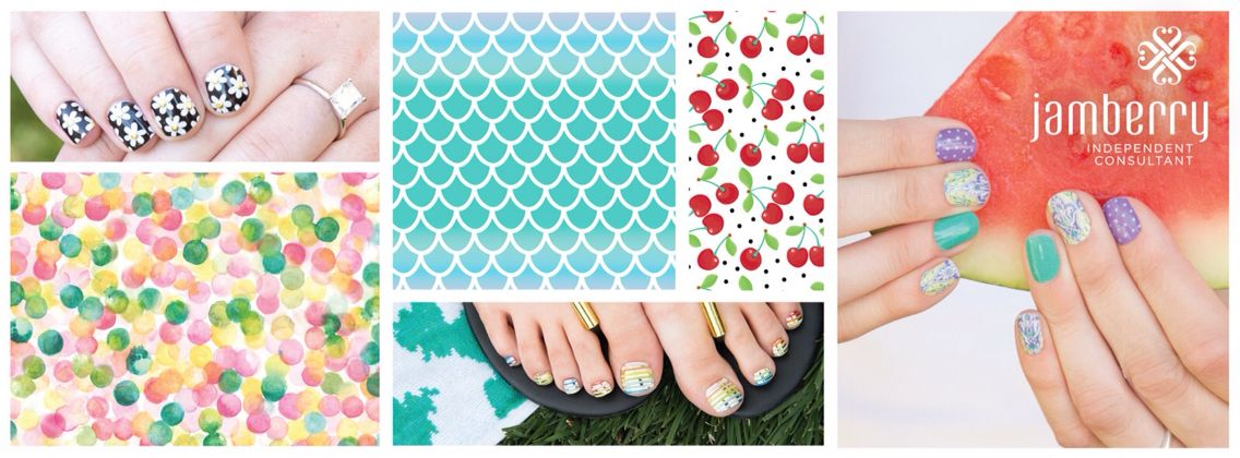 Jamberry Cover Pic- Summer amydavis7779.jamberrynails.net | Jamberry ...