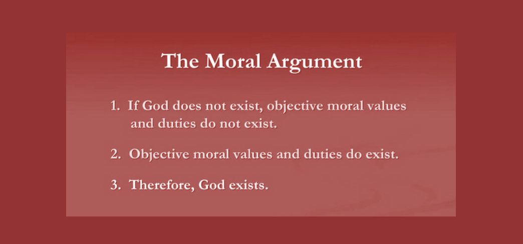 By Ajit Krishna Dasa An Interesting And Persuasive Argument For The Existence Of God I Moral Teleological Christian Apologetics Exist Essay