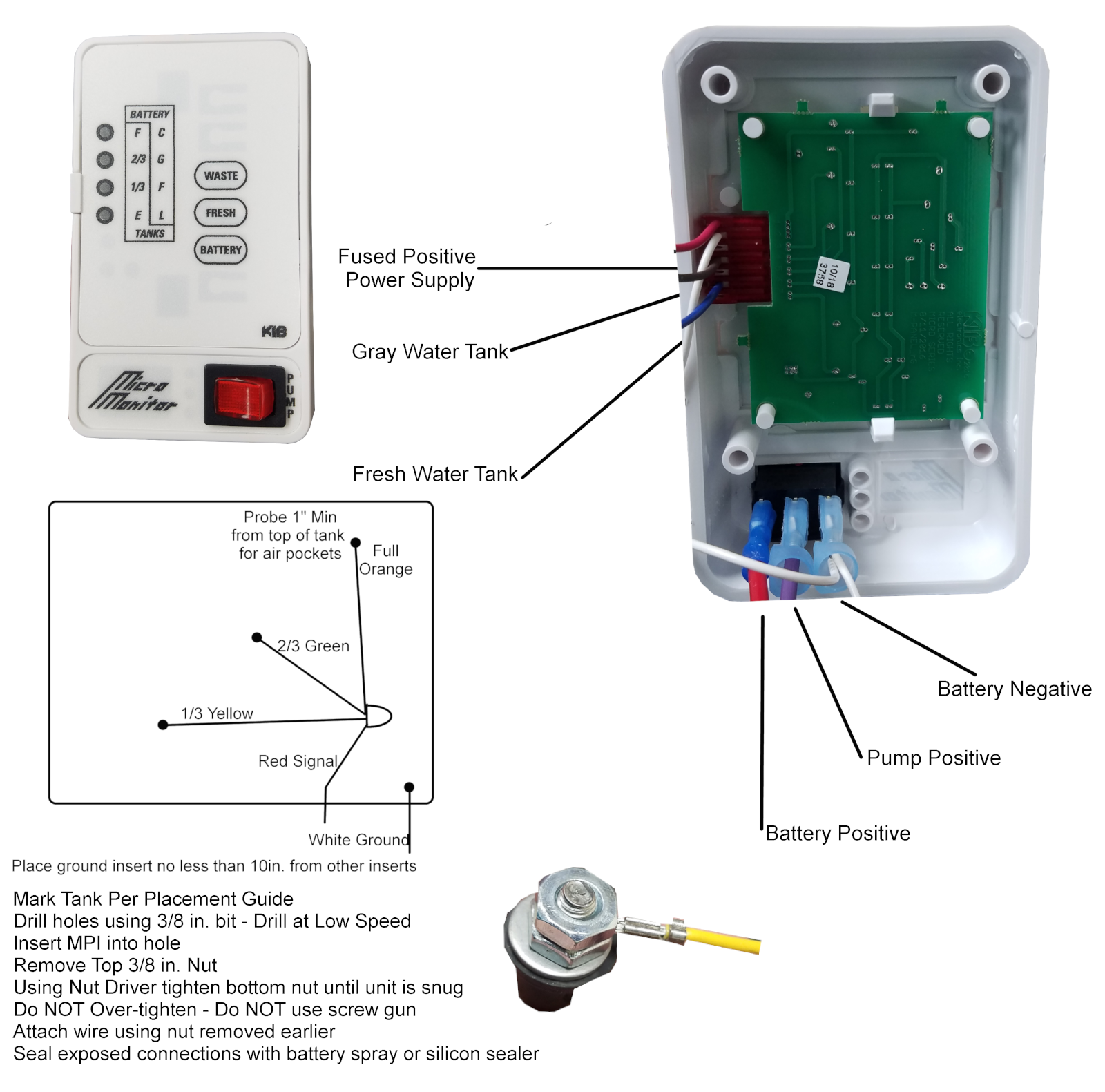 Monitor Panel | Water tank, System monitor, Rv water tankPinterest