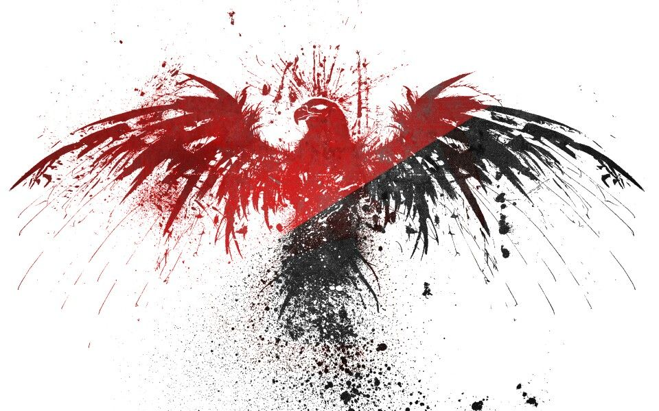 Black Red Eagle Eagle Wallpaper Red And White Wallpaper Black And Red