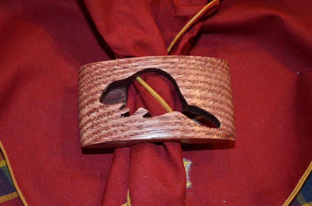 how to make a boy scout neckerchief slide