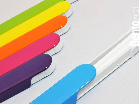 My Hashi Colors is set of chopsticks with a sleek box to carry them in. $10.00