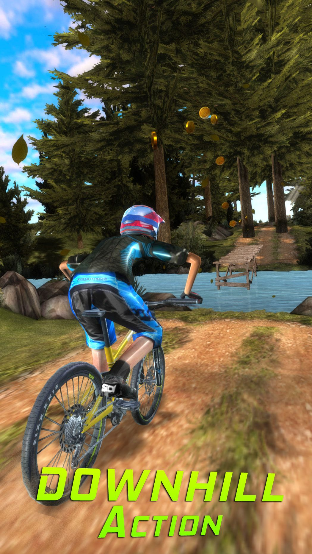 Bike Dash combines an extreme endless runner game with