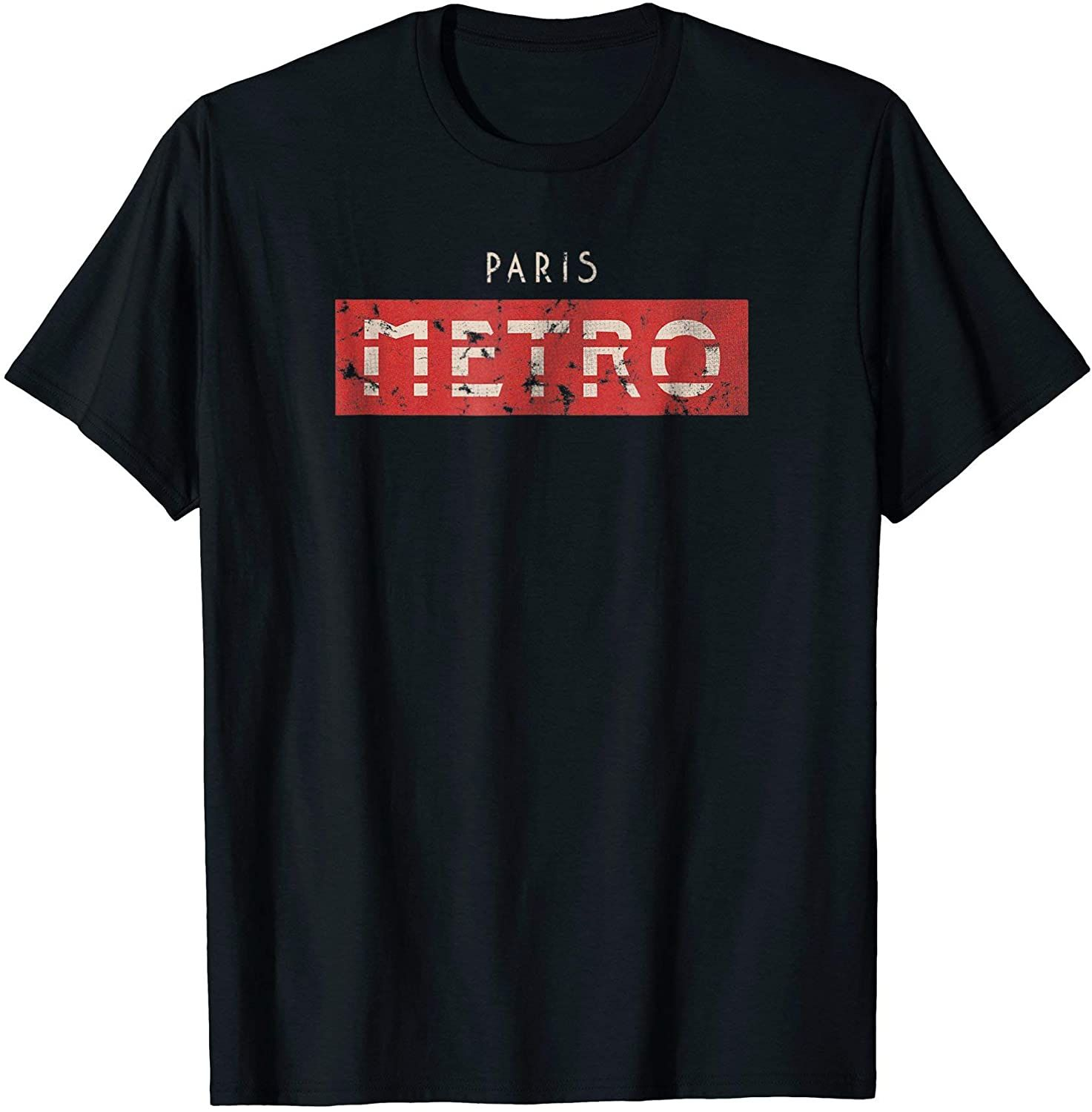 Paris Metro Tshirt for Paris France Travelers in 2020
