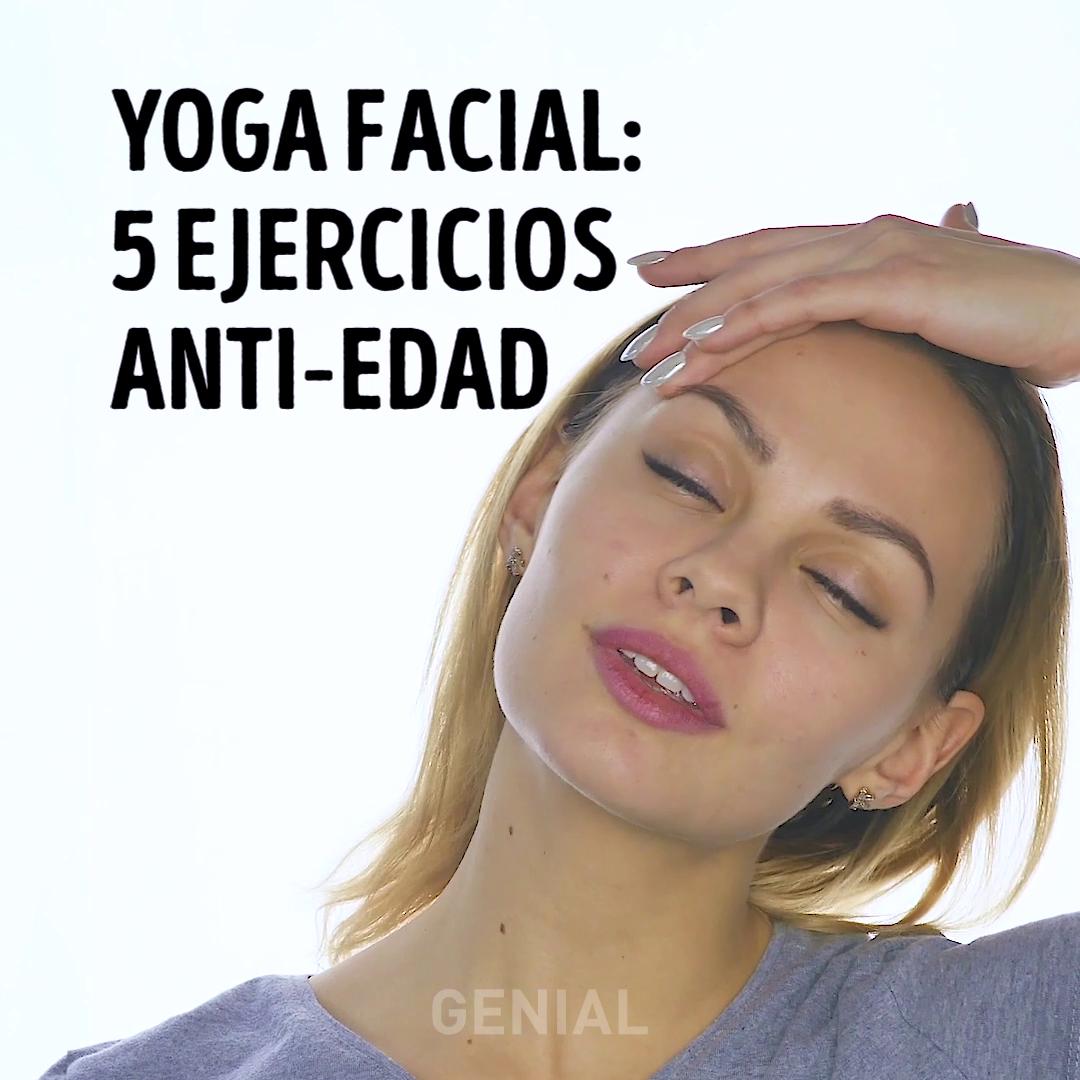 Photo of Yoga facial: 5ejercicios anti-edad