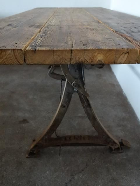 Industrial table - Vivre Interieur Authentique The Netherlands ...