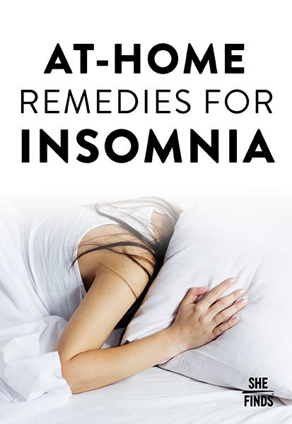 At-Home Remedies For Insomnia