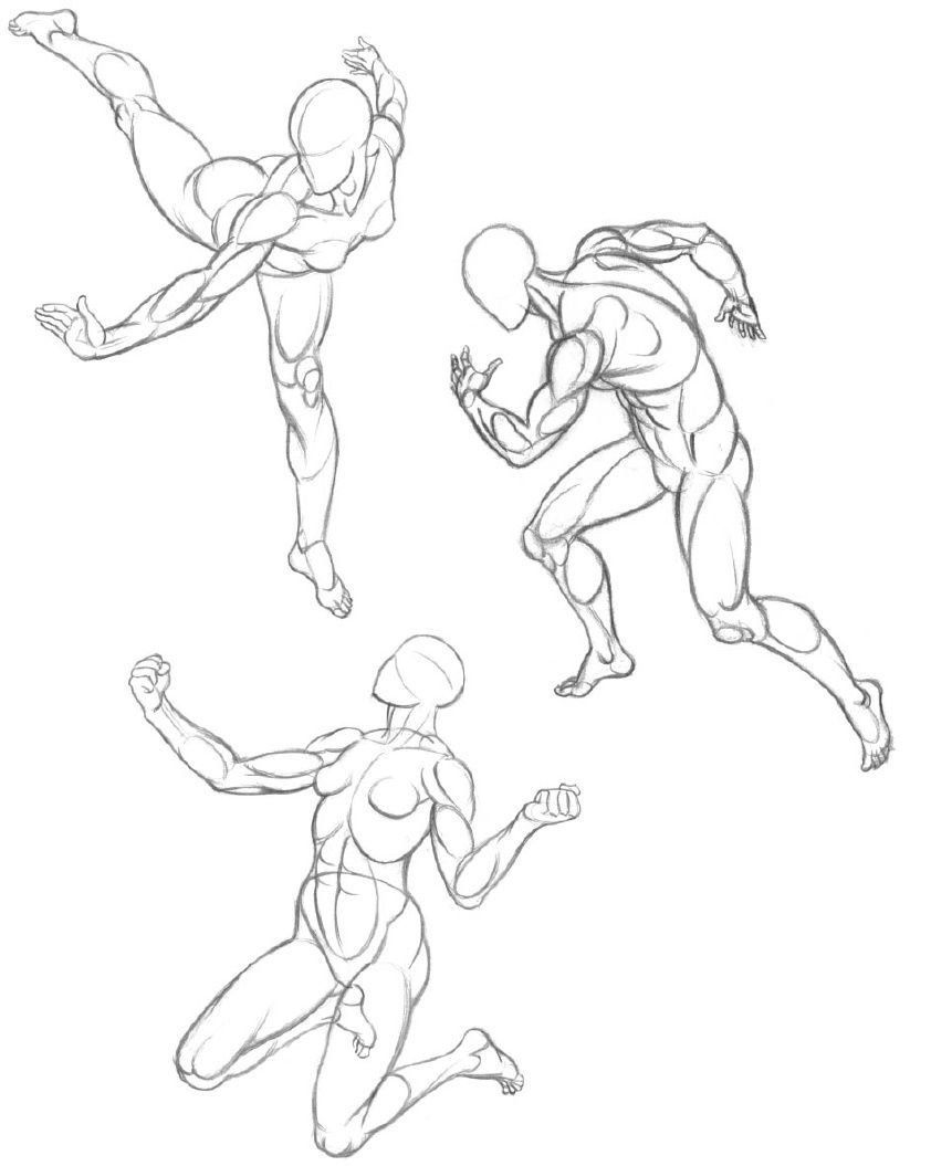 BOOKLET: Figure Drawing Basics: Action & Structure (2000; 2nd ed ...