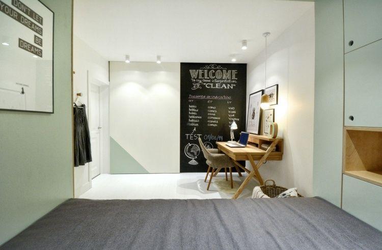Chambre ado fille - meubles multi-fonctionnels et décoration