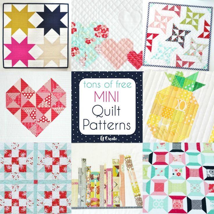 Free Mini Quilt Patterns Mini Quilts Mini Quilt Patterns Quilt