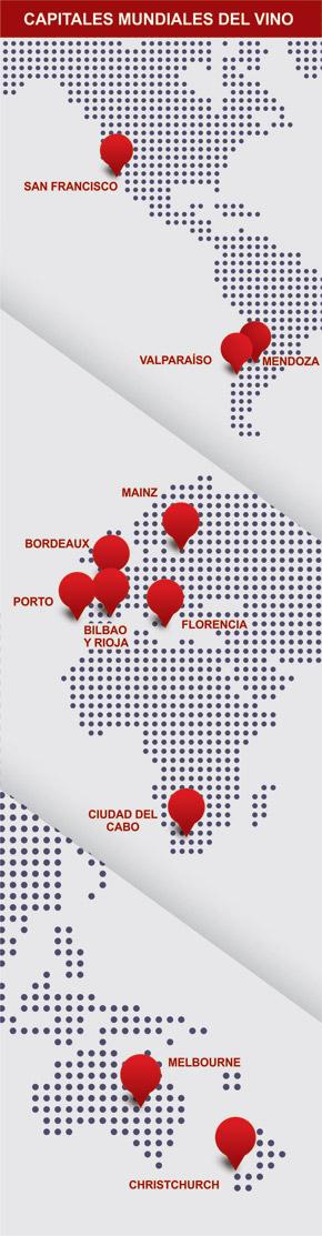 Las 11 Grandes Capitales del Vino #Mendoza #WineUp