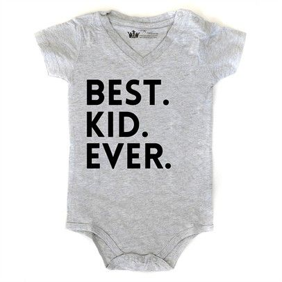 Best.Kid.Ever onsie