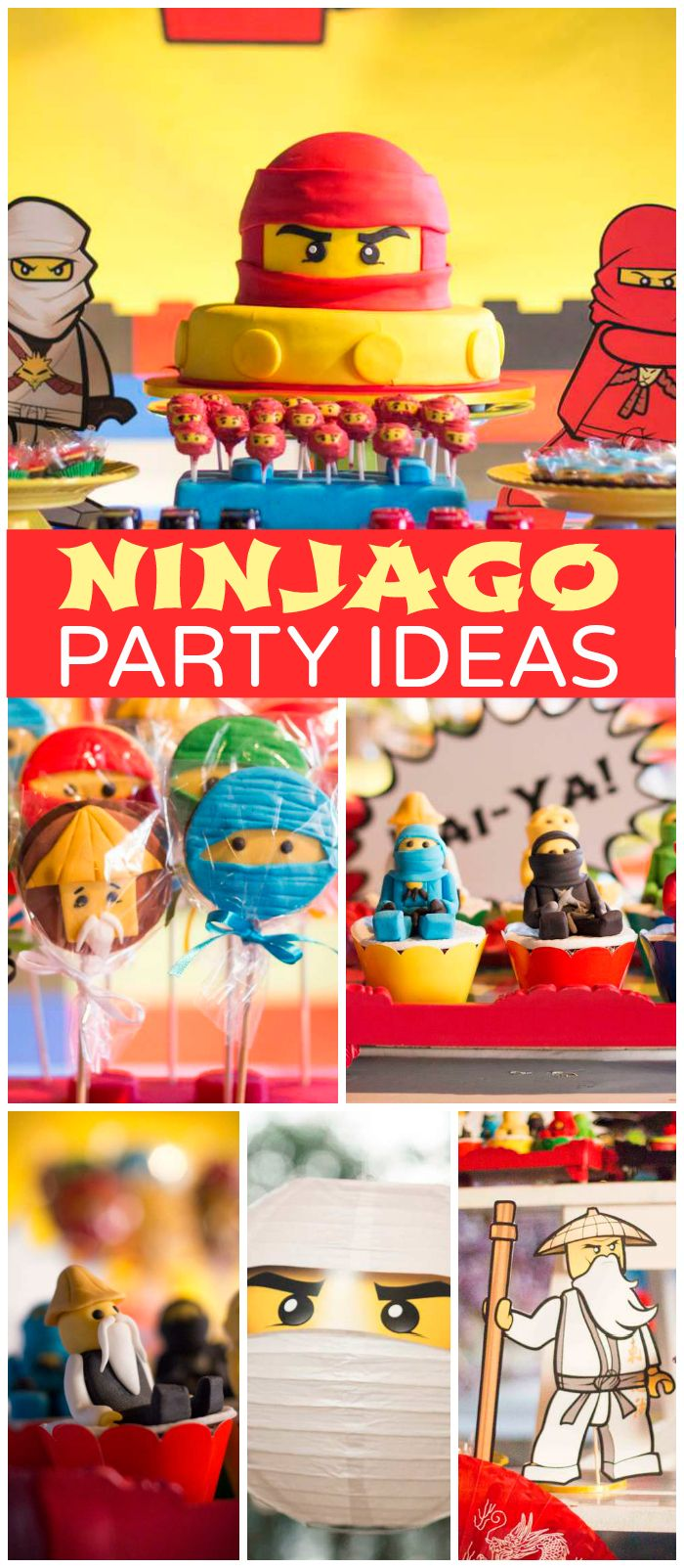 lego ninjago birthday ant nio turns 8 in the lego 39 s world kindergeburtstag ideen. Black Bedroom Furniture Sets. Home Design Ideas