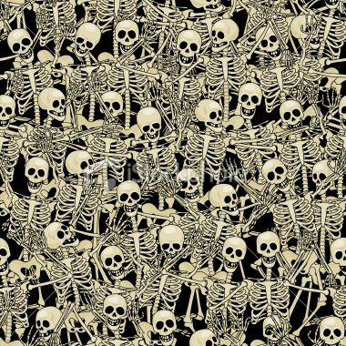 Happy Skeletons uploaded by amyjames on We Heart It