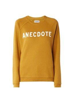 Anecdote Do sweater met logo opdruk